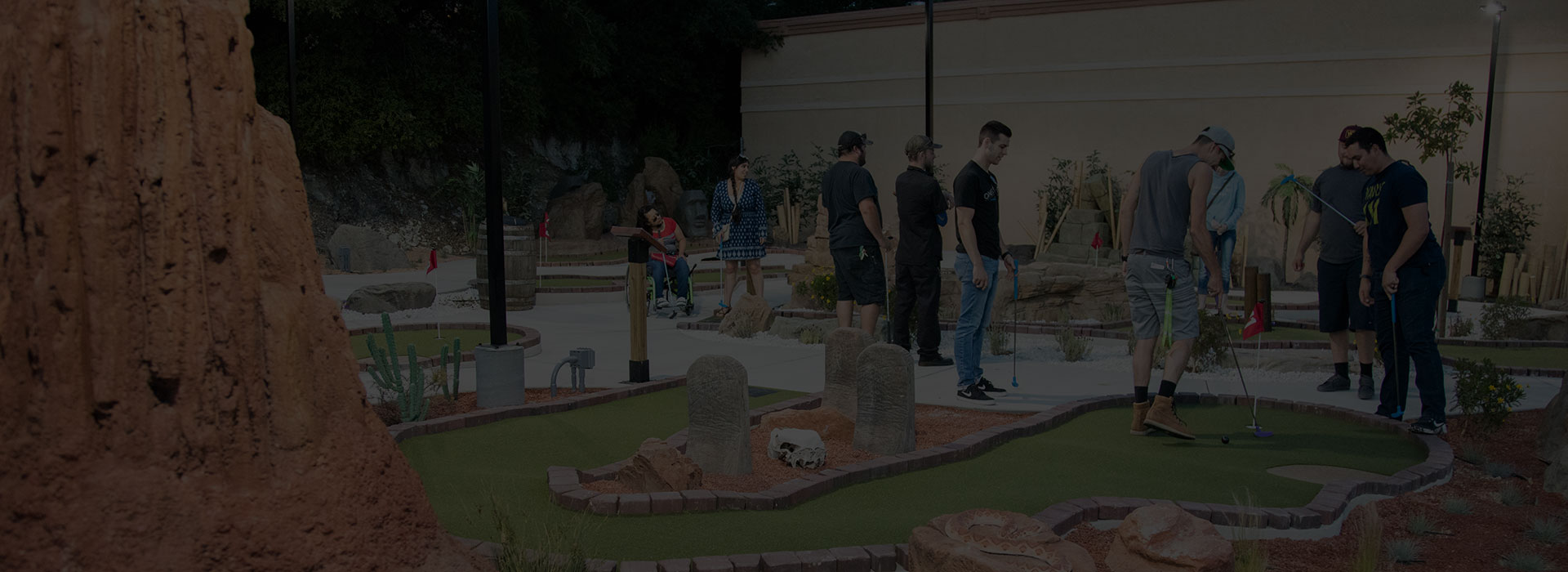 Miniature Golf - Central Coast Activities - Mini Golf - Atascadero Miniature Golf - Mr Putters Putt-Putt
